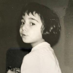 Sandra Longinotti da bambina | foto Sandra Longinotti