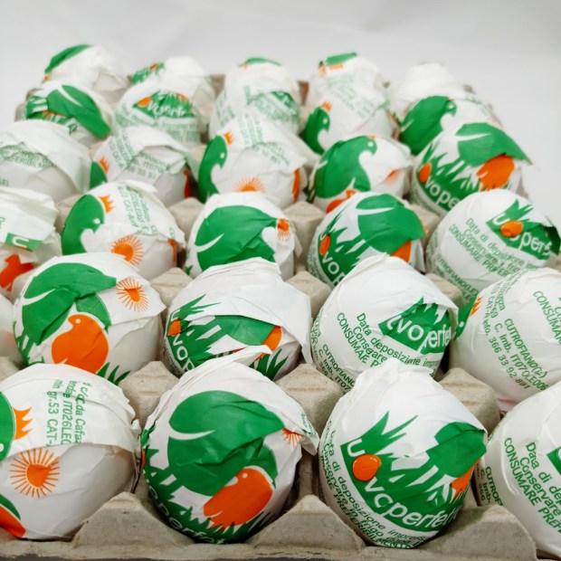Uovo Perfetto il plateau da 30 uova