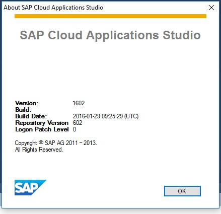 SAP Cloud Application Installation