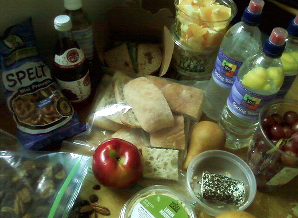 Traveling Light Road Trip Picnic My Life Runs On Food