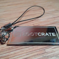 LootCrate engraved into it.