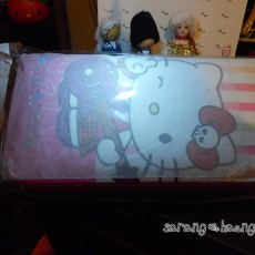 Note that the plastic is just plain white, with no Sanrio tag anywhere.