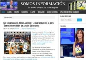 Web del libro 'Somos información'