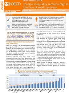 Informe de la OCDE sobre la desigualdad