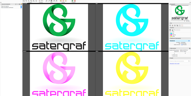 Separaciones de color