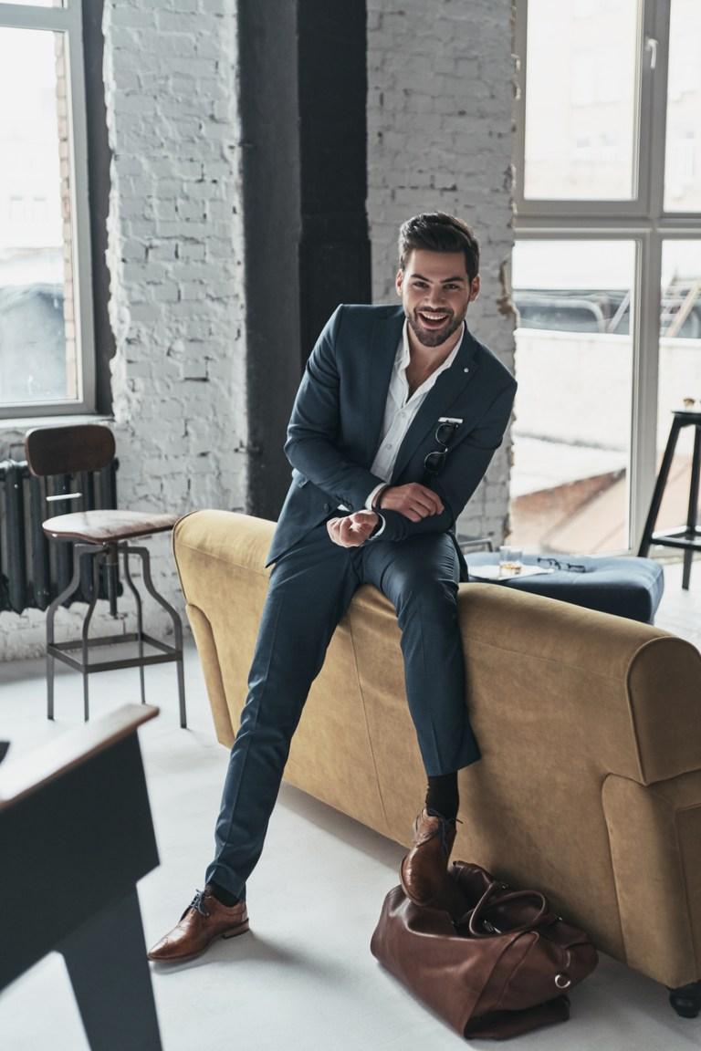 Homem estiloso, homem com estilo, sapato casual