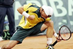 Davis Cup World Group Playoff Tie - Serbia v Australia - Day 1