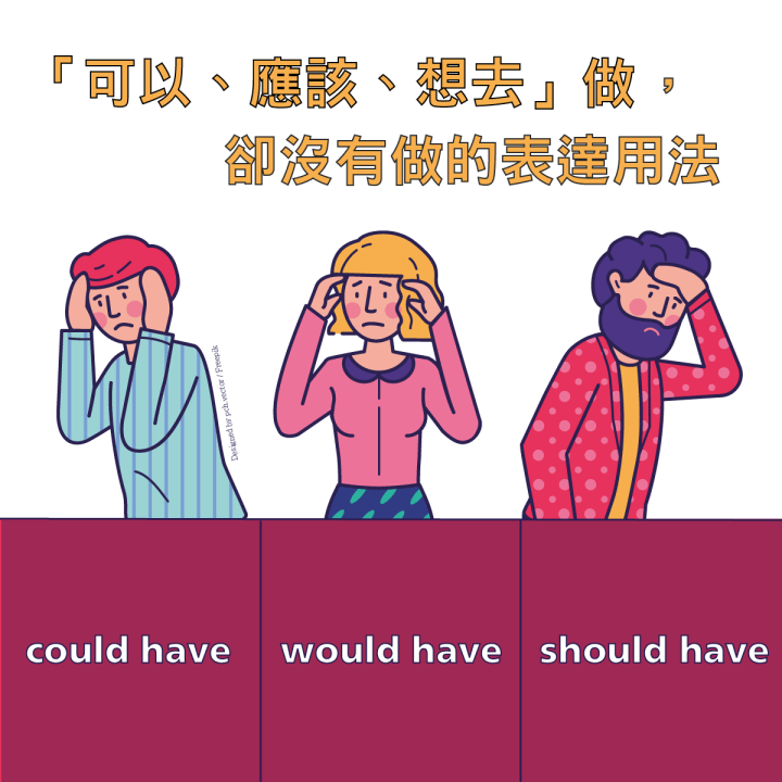 1分鐘學外語  | 教你Would have, Should have和Could have 的用法