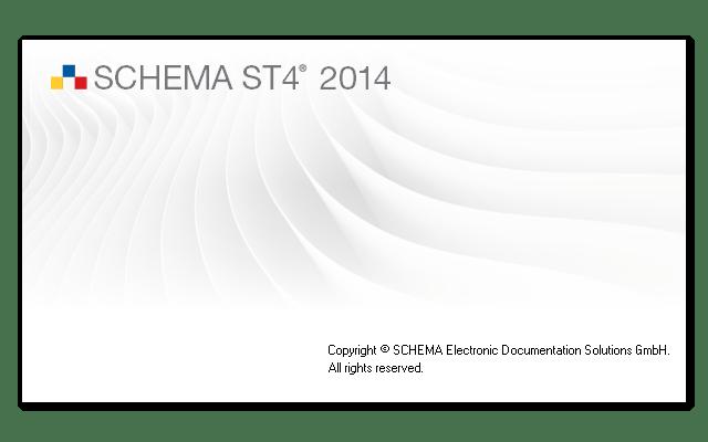SCHEMA ST4 2014 - Splashscreen
