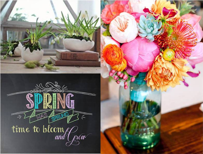 Spring Collage - Schneidermans the blog - image sources in post