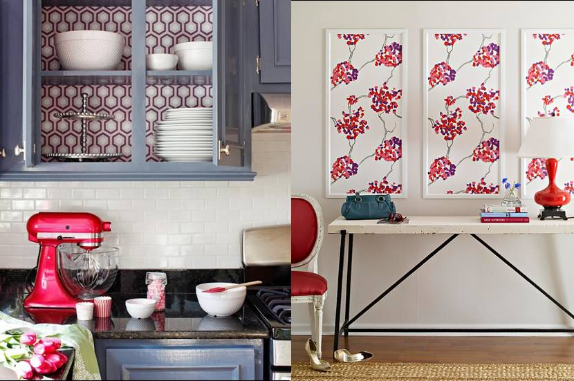 Small Ways to Use Wallpaper