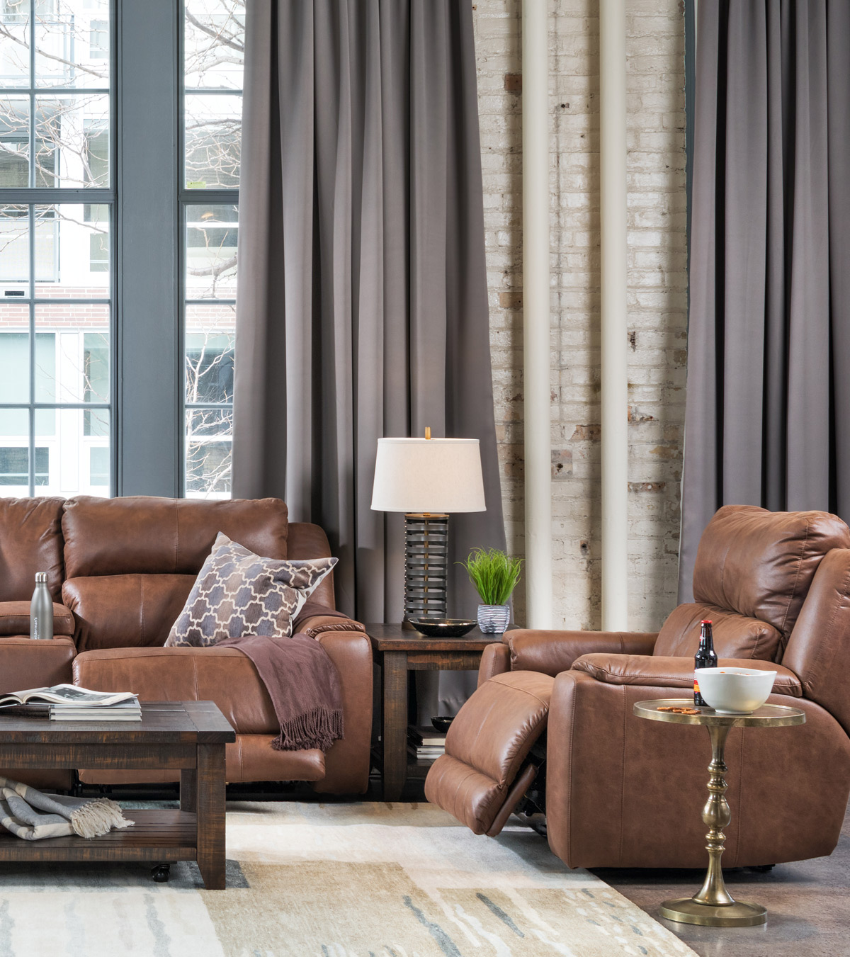 Decorating With Brown And Gray A Pairing That May Surprise You Schneiderman S The Blog Design And Decorating