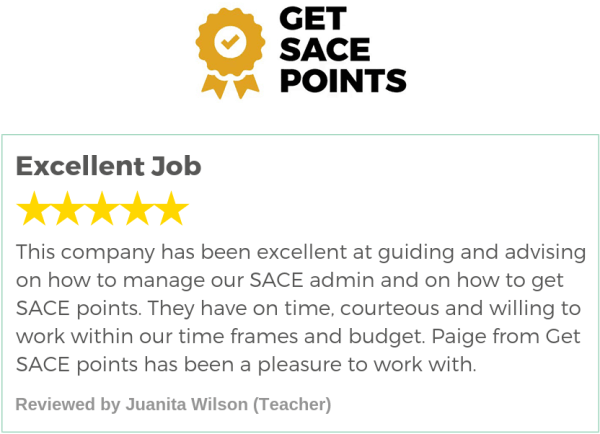 Get SACE Points Review