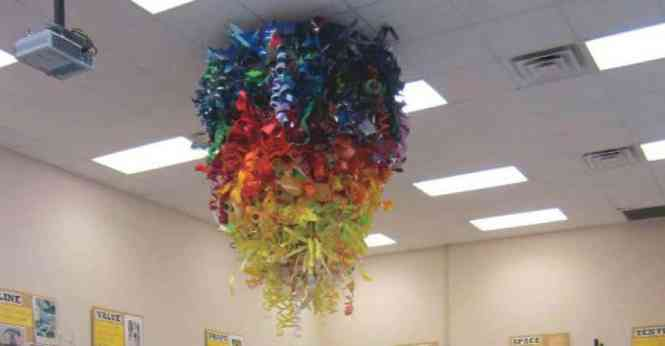 A Chihuly Chandelier