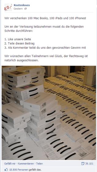 FB-Hoax-Gewinne