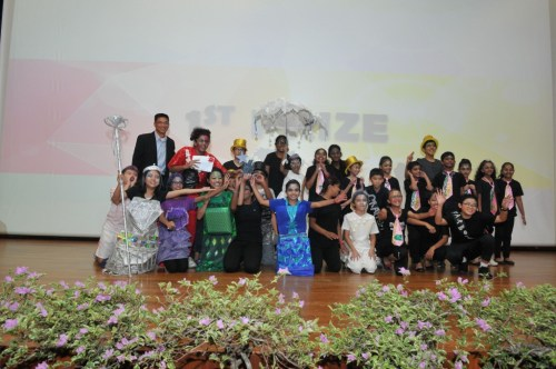 Group photo of the winning team in 2014 - Punggol Primary School