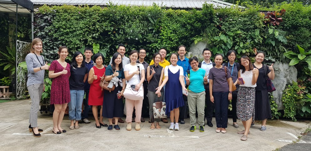Participants of the learning journey to Greenology