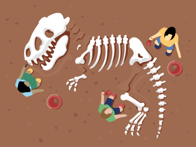 The Dig in Dinosaurs!