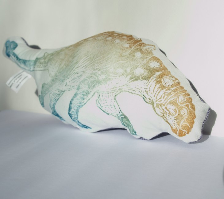 Dino plush by Ele Willoughby