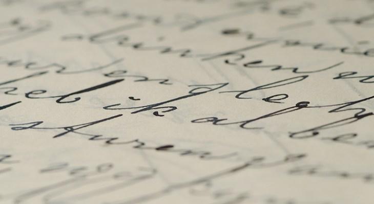 handwriting-51159_Pexel CC0 via Pixabay