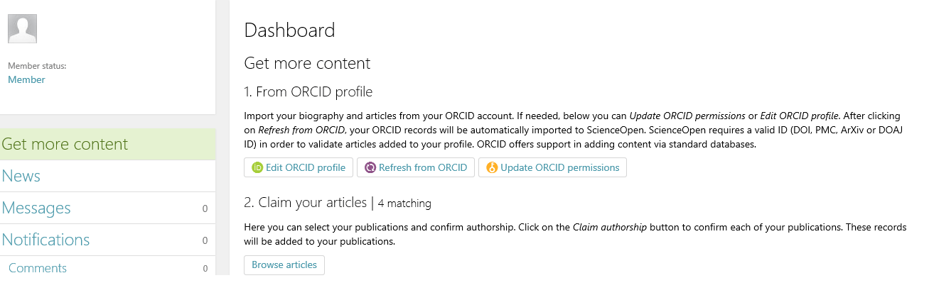 Get more content on ScienceOpen