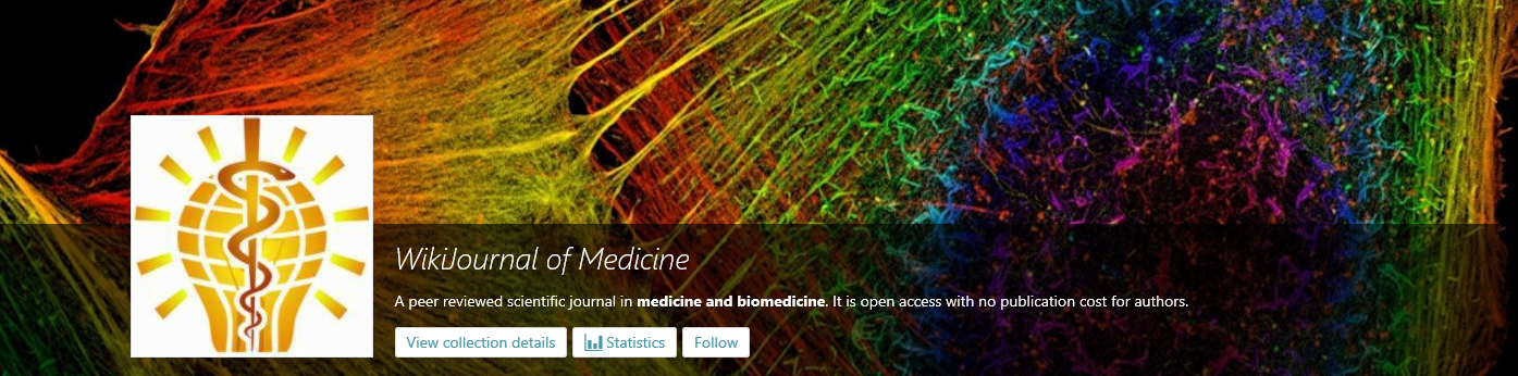 wikijournal of medicine