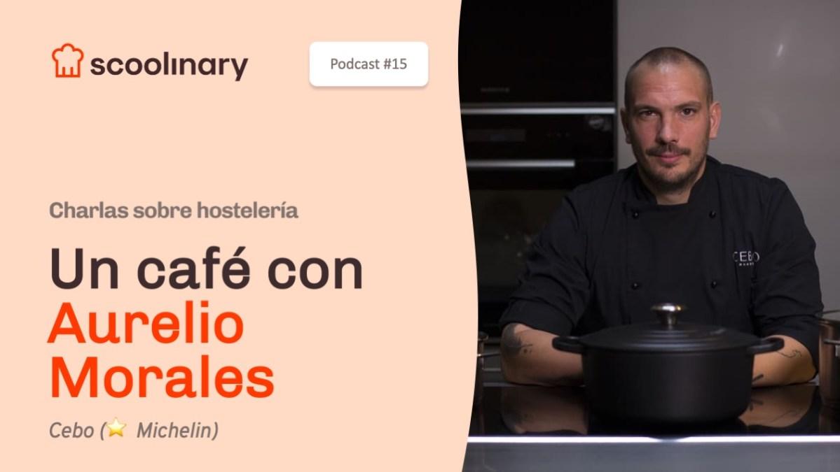 Un café con Aurelio Morales, aprende a trabajar la creatividad