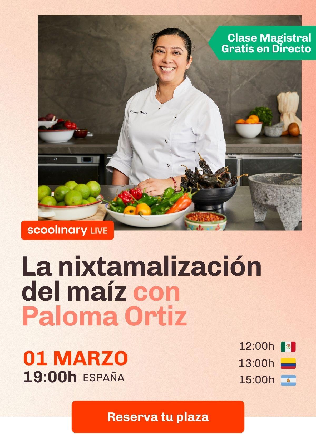 Scoolinary lanza clases magistrales gratis y en directo con los mejores chefs