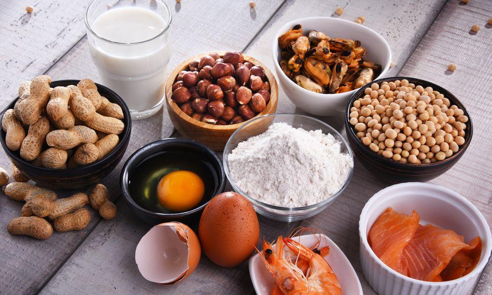 ¿Cuáles son los principales alérgenos alimentarios en pastelería?