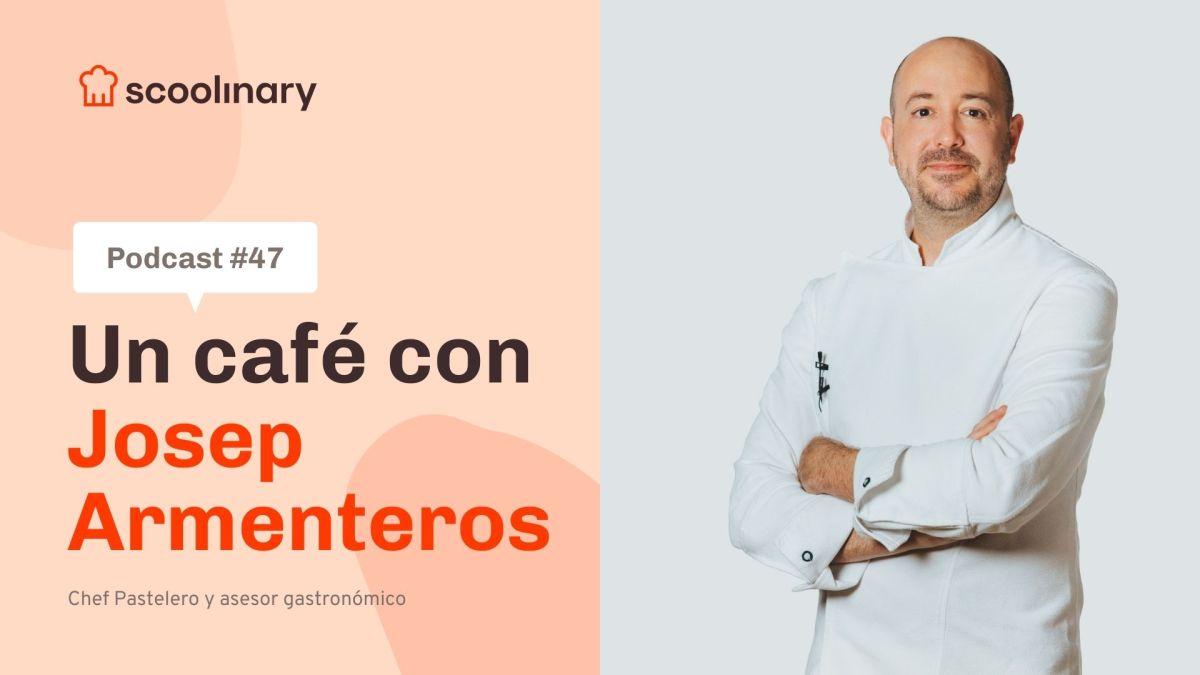 Un café con Josep Armenteros: Cómo entender una fórmula en pastelería