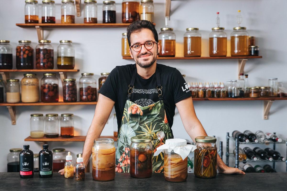 Robert Ruiz y los alimentos fermentados: una relación especial