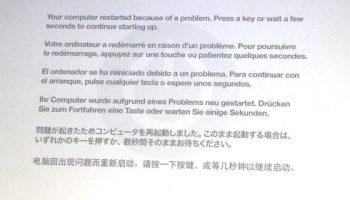 Macbook Pro Kernel Panic - High Sierra 10 13 3 (17D47