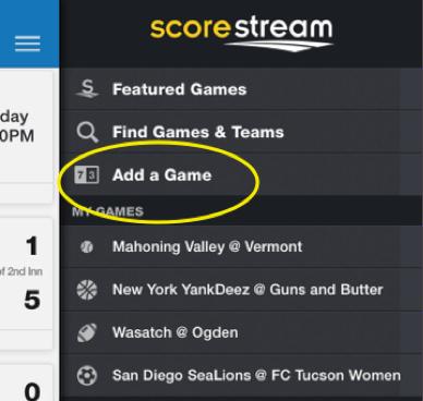 app-add a game