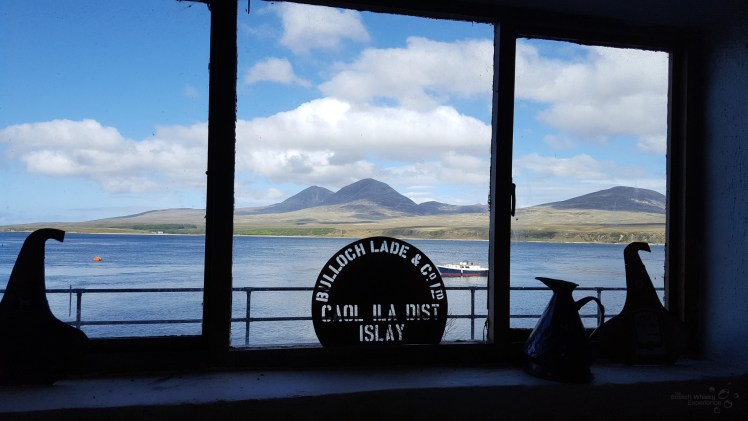The view from Caol Ila Distillery (Credit and copyright: Paula Arthur)