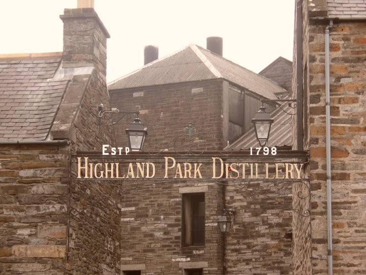 Highland park distillery gates