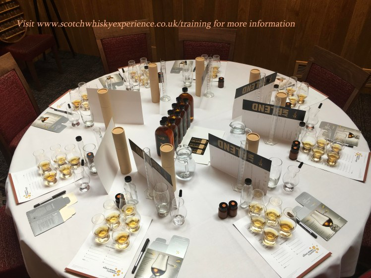 Scotch Whisky Training School - blend your own session