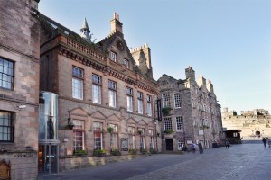 The Scotch Whisky Experience, which sits at the top of Edinburgh's Royal Mile, next door to Edinburgh Castle.