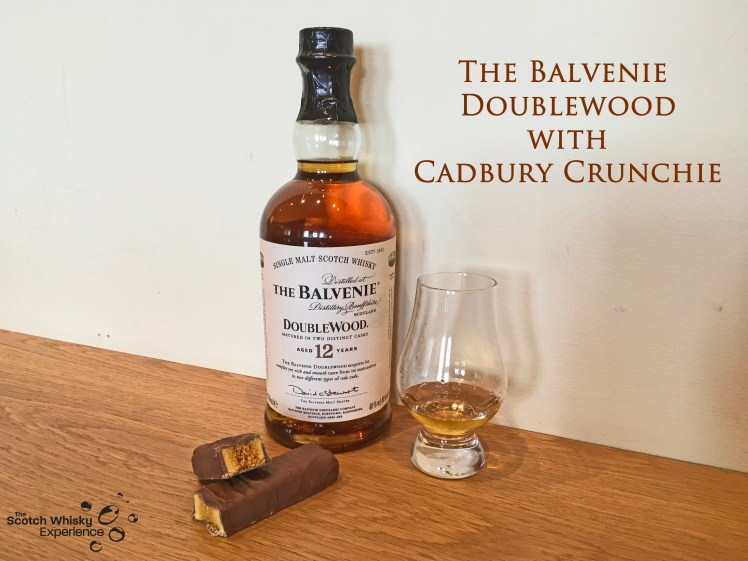 Scotch Whisky Experience: The Balvenie Doublewood with Cadbury Crunchie