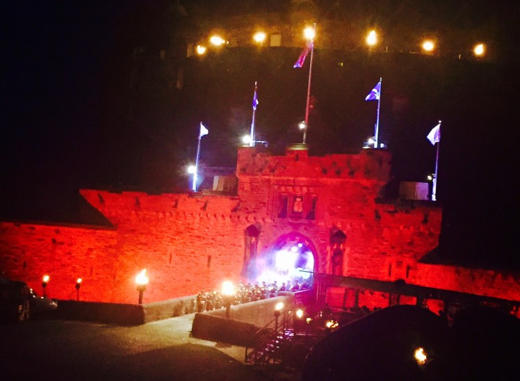 The Royal Edinburgh Military Tattoo 2017 - Ben Thompson (Scotch Whisky Experience)