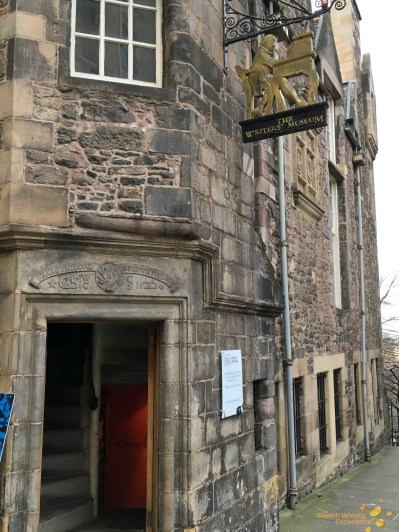 The Writer's Museum (Lady Stair's Close, Lawnmarket, Edinburgh)