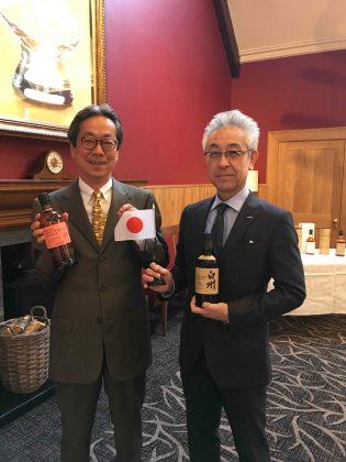 Tadashi Sakuma (L) and Shinji Fukuyo (R)