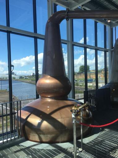 Clydeside Distillery stills (credit: Scotch Whisky Experience team)