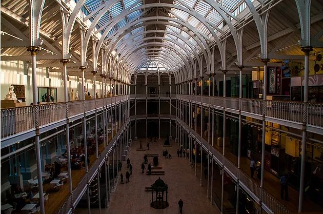 The National Museum of Scotland (credit and copywright: Andrew Palmer)