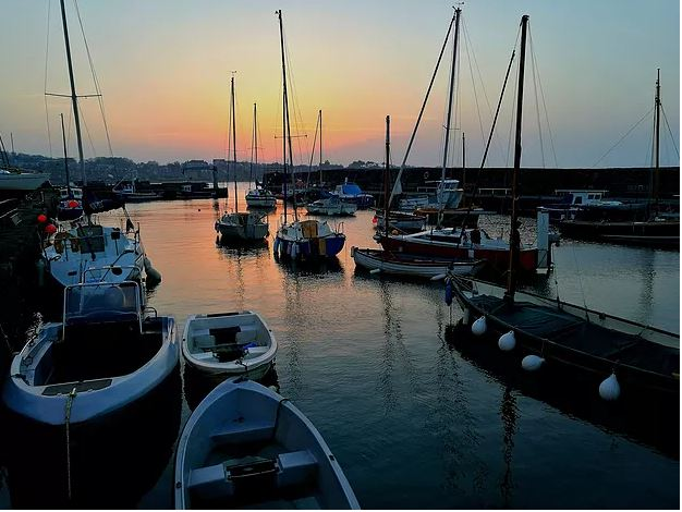 North Berwick harbour (credit and copyright: Andrew Palmer)
