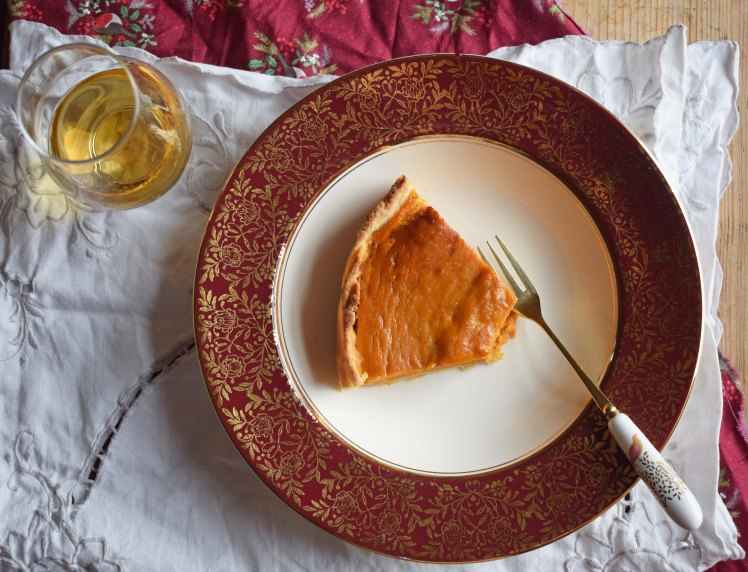 Recipe for pumpkin pie with Scotch whisky