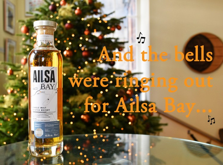 And the bells were ringing out for Ailsa Bay - whisky puns for Christmas, at the Scotch Whisky Experience