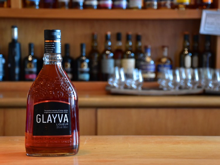 Glayva Liqueur - whiskies available at the Scotch Whisky Experience, Edinburgh