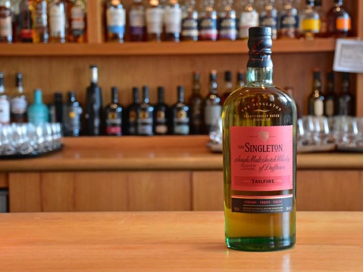 Singleton Tailfire - whiskies available at the Scotch Whisky Experience, Edinburgh