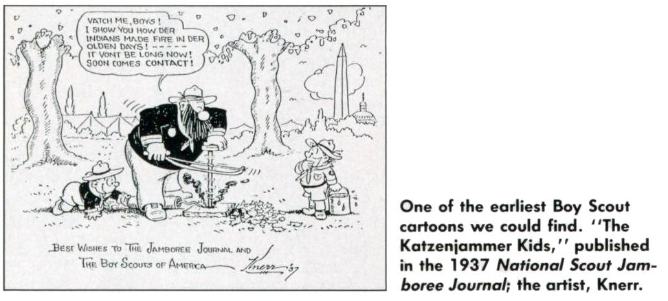 Scouting Cartoon (7 of 12)