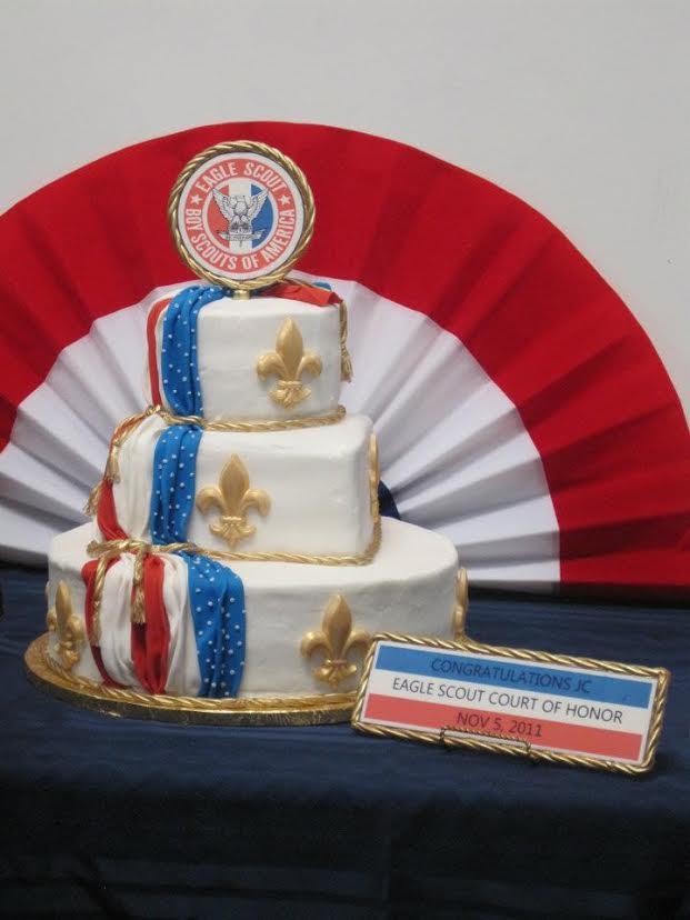 14 Eagle Scout Golden Cake